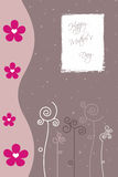 Mother's day card Stock Photography