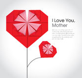 Mother\'s day card Stock Photo