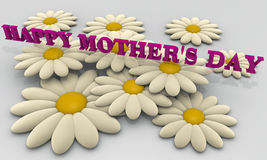 Mother's day card Royalty Free Stock Photo