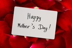 Mother's Day card Stock Images