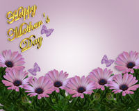 Mother's Day Card or Background Stock Photos
