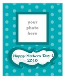 Mother's Day card for boys Stock Photography