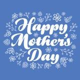 Mother's Day Card Design Stock Photos