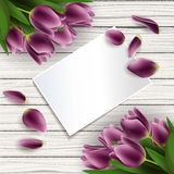 Mother's day card Royalty Free Stock Photography