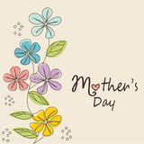 Mother`s Day card Stock Photo
