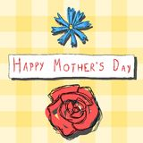 Mother's Day celebration Royalty Free Stock Photography