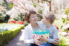 Mother's day celebration Stock Image