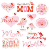 Mother's Day clipart Stock Photography