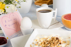 Mother's day coffee Stock Photos