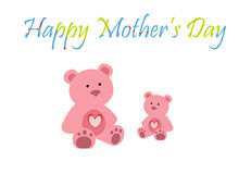 Mother's Day. Colorful mother's day greeting Stock Photography