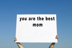 Mother`s Day concept Royalty Free Stock Images