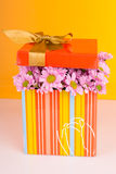 Mother's Day Concept with colorful flowers. Stock Photography