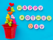Mother`s day concept. Royalty Free Stock Photography