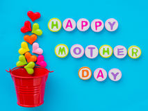 Mother`s day concept. Stock Images