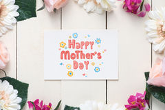 Mothers Day concept Stock Photography