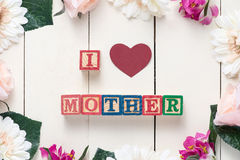 Mothers Day Concept Royalty Free Stock Images