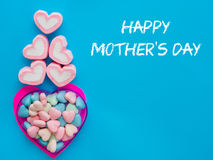 Mother`s day concept. Royalty Free Stock Images