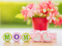 Mother`s day concept. Royalty Free Stock Image