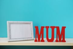 Mother`s day concept with space for copy background Stock Images