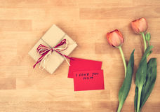 Mother`s Day concept Royalty Free Stock Photo