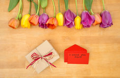 Mother`s Day concept Royalty Free Stock Photos
