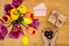 Mother`s Day concept Stock Image