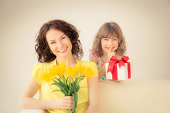 Mother's day concept Stock Photography