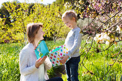 Mother's day concept Royalty Free Stock Photos