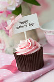 Mother's day cupcake Royalty Free Stock Images
