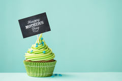 Mother`s day cupcake Royalty Free Stock Photos