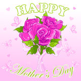 Mothers Day Design Royalty Free Stock Photo