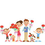 Mother's Day and family Royalty Free Stock Photo