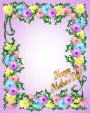 Mother's Day Floral Background Stock Photo