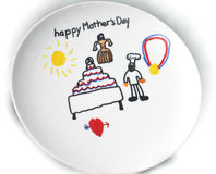 Mother's Day Gift. A gift for mother on Mother's Day Stock Images