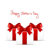 Mother's day gift and greeting card. Royalty Free Stock Photography