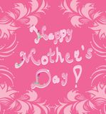 Mother's day greeting card Stock Photography