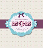 Mother S Day Greeting Card Stock Photography