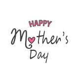 Mother`s day greeting card Stock Image