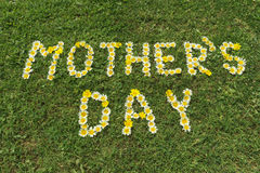 Mother´s day greeting card Royalty Free Stock Image