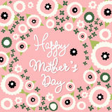 Mother's day greeting card Stock Photo