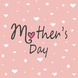 Mother`s day greeting card Royalty Free Stock Photo