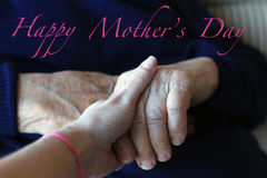 Mother's day greeting Stock Photos