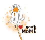 Mother's Day greeting Royalty Free Stock Photos