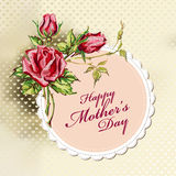 Mother's day greetings Stock Image
