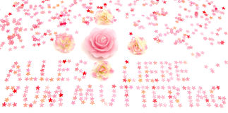 Mother's Day Greetings Royalty Free Stock Images