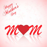 Mothers Day Illustration Stock Photography