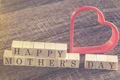 Mother's Day message Stock Photography