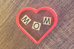 Mother's Day message Royalty Free Stock Photography