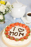 Mother's day pastry royalty free stock photos