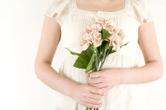 Mother's day's carnation bouquet Royalty Free Stock Image